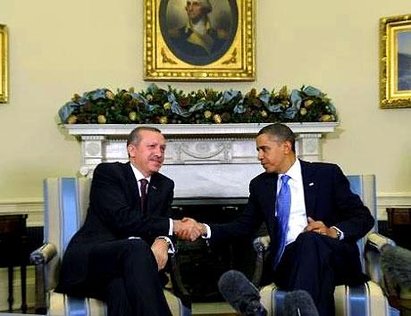 Obama-Erdoğan görüşmesinden kareler galerisi resim 21