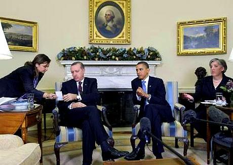 Obama-Erdoğan görüşmesinden kareler galerisi resim 22