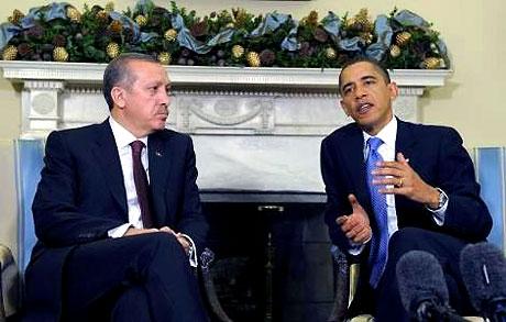 Obama-Erdoğan görüşmesinden kareler galerisi resim 23