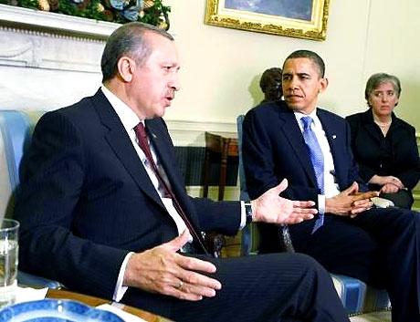 Obama-Erdoğan görüşmesinden kareler galerisi resim 25