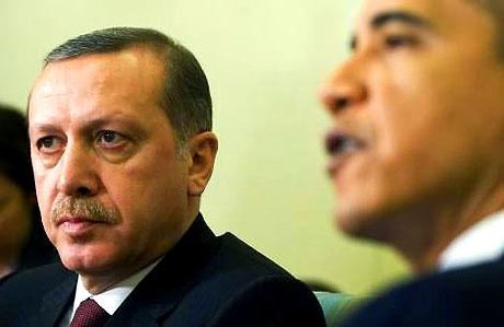 Obama-Erdoğan görüşmesinden kareler galerisi resim 26