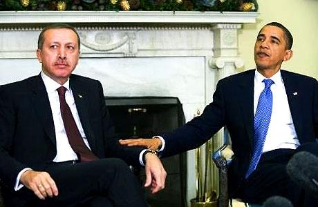 Obama-Erdoğan görüşmesinden kareler galerisi resim 28