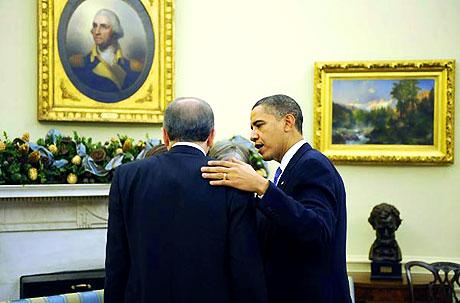 Obama-Erdoğan görüşmesinden kareler galerisi resim 29