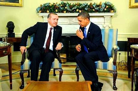 Obama-Erdoğan görüşmesinden kareler galerisi resim 5