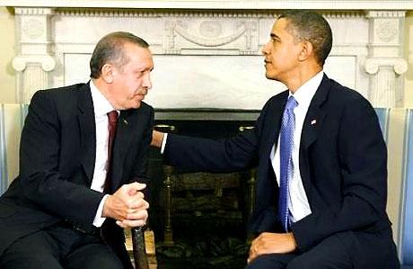 Obama-Erdoğan görüşmesinden kareler galerisi resim 7