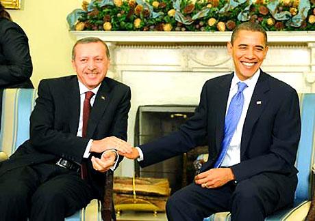 Obama-Erdoğan görüşmesinden kareler galerisi resim 8