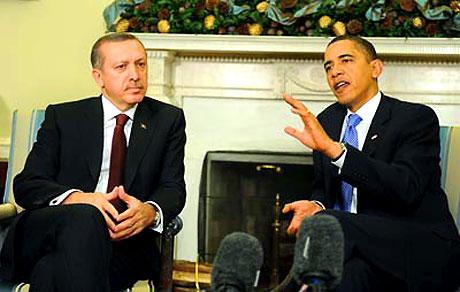Obama-Erdoğan görüşmesinden kareler galerisi resim 9