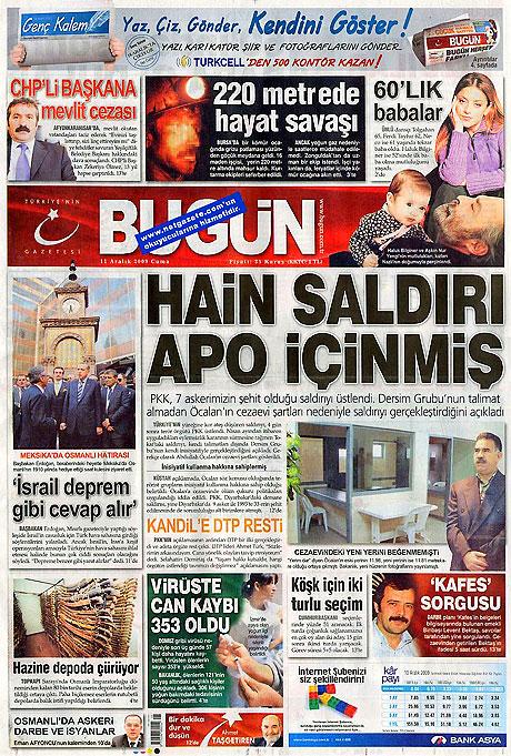 Gazeteler'de Reşadiye Saldırısı galerisi resim 2