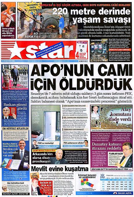 Gazeteler'de Reşadiye Saldırısı galerisi resim 9