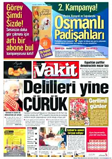 Gazete Manşetleri (14 Aralık) galerisi resim 11
