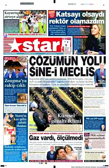 Gazete Manşetleri (14 Aralık) galerisi resim 5