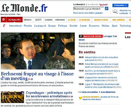 Berlusconi'nin burnunu kırdılar! galerisi resim 2