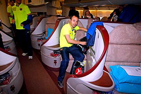 THY'nin 'Barça'yı taşıdığı uçak! galerisi resim 1