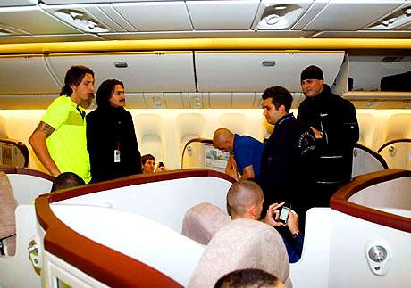 THY'nin 'Barça'yı taşıdığı uçak! galerisi resim 12