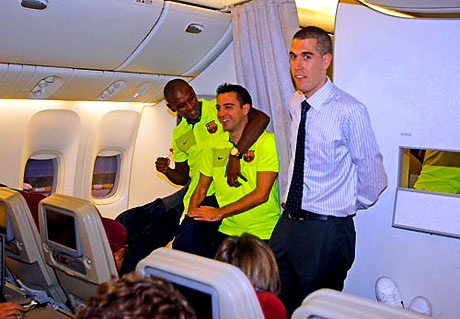 THY'nin 'Barça'yı taşıdığı uçak! galerisi resim 14