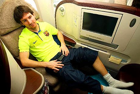 THY'nin 'Barça'yı taşıdığı uçak! galerisi resim 4