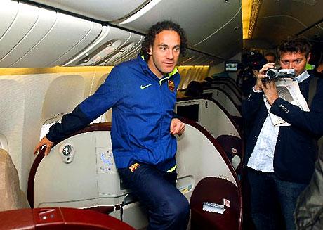 THY'nin 'Barça'yı taşıdığı uçak! galerisi resim 6