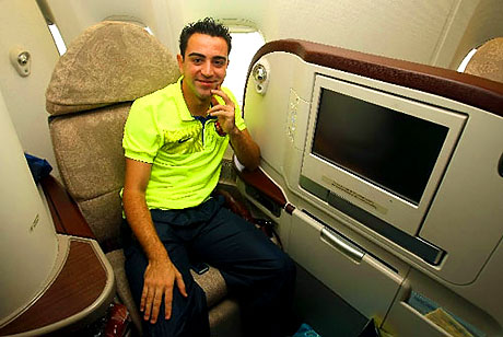 THY'nin 'Barça'yı taşıdığı uçak! galerisi resim 9