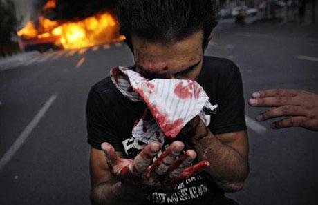 İran'da Seçim Gösterileri galerisi resim 11