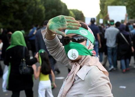 İran'da Seçim Gösterileri galerisi resim 3