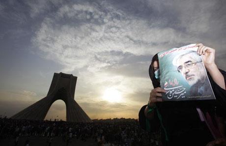 İran'da Seçim Gösterileri galerisi resim 4