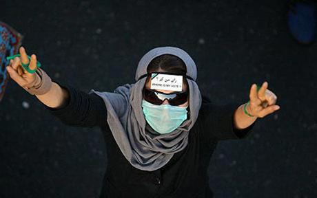 İran'da Seçim Gösterileri galerisi resim 5