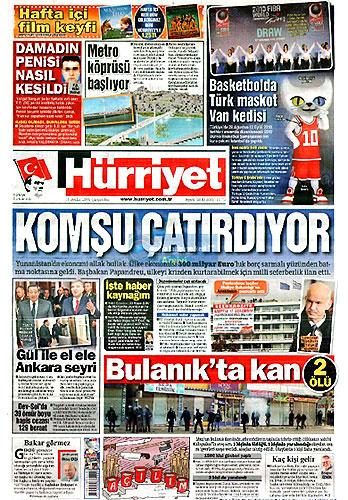 Gazete Manşetleri (16 Aralık) galerisi resim 1