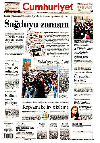 Gazete Manşetleri (16 Aralık) galerisi resim 10