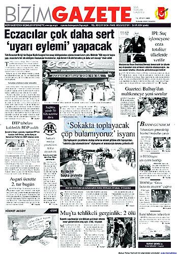Gazete Manşetleri (16 Aralık) galerisi resim 21