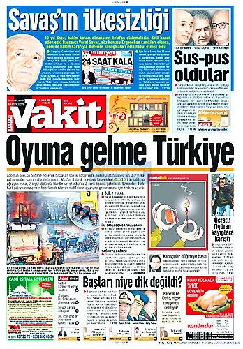 Gazete Manşetleri (16 Aralık) galerisi resim 23