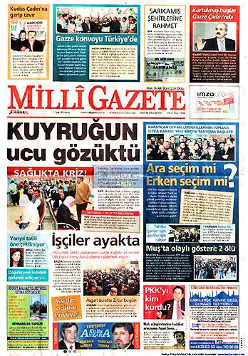 Gazete Manşetleri (16 Aralık) galerisi resim 26