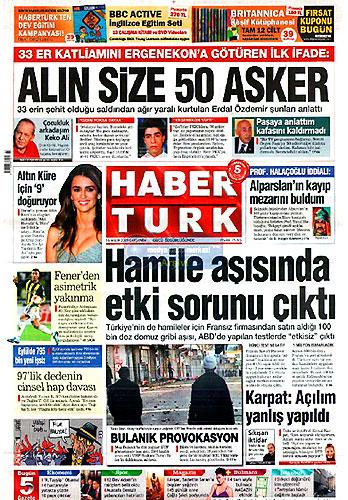 Gazete Manşetleri (16 Aralık) galerisi resim 5