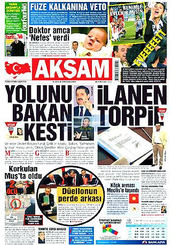Gazete Manşetleri (16 Aralık) galerisi resim 8