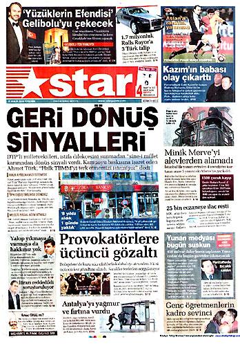 Gazete Manşetleri (17 Aralık) galerisi resim 16