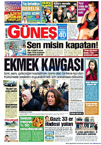 Gazete Manşetleri (17 Aralık) galerisi resim 17