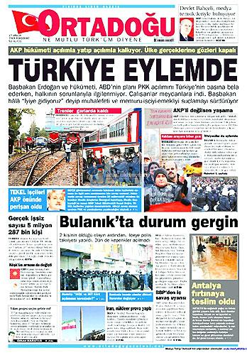 Gazete Manşetleri (17 Aralık) galerisi resim 20