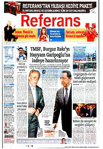 Gazete Manşetleri (17 Aralık) galerisi resim 22