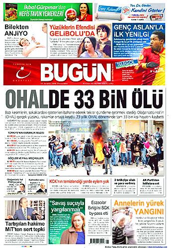 Gazete Manşetleri (17 Aralık) galerisi resim 5
