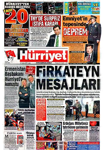 Gazete Manşetleri (18 Aralık) galerisi resim 1