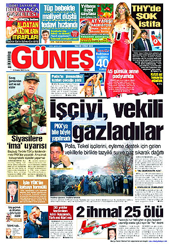 Gazete Manşetleri (18 Aralık) galerisi resim 20