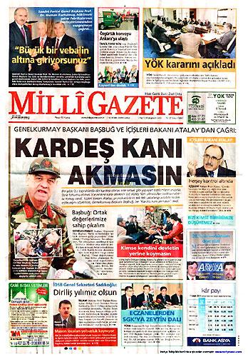 Gazete Manşetleri (18 Aralık) galerisi resim 24