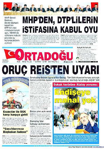 Gazete Manşetleri (18 Aralık) galerisi resim 25