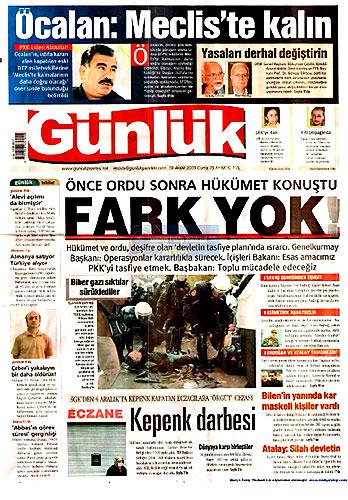 Gazete Manşetleri (18 Aralık) galerisi resim 27