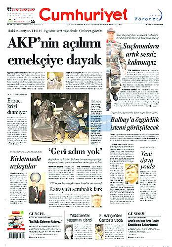 Gazete Manşetleri (18 Aralık) galerisi resim 6