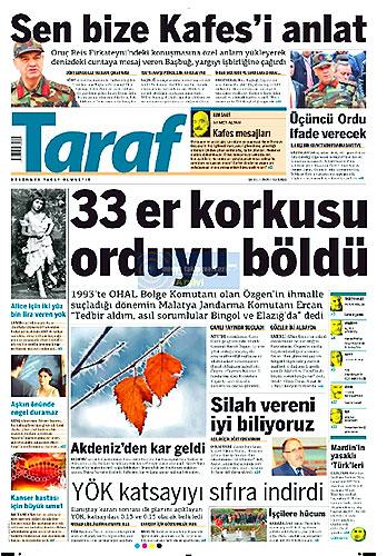 Gazete Manşetleri (18 Aralık) galerisi resim 9