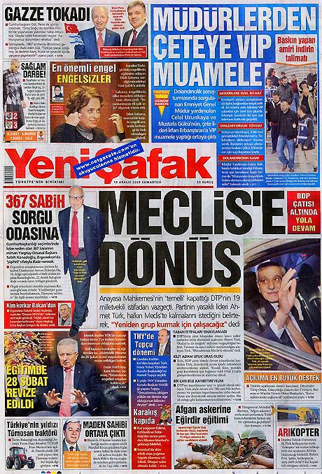 Türk basınında bugün (19 Aralık) galerisi resim 11