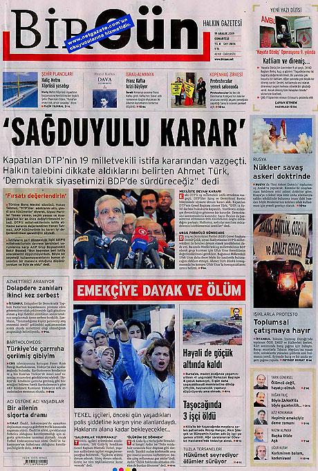 Türk basınında bugün (19 Aralık) galerisi resim 13