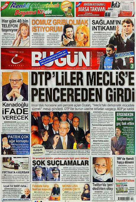 Türk basınında bugün (19 Aralık) galerisi resim 14