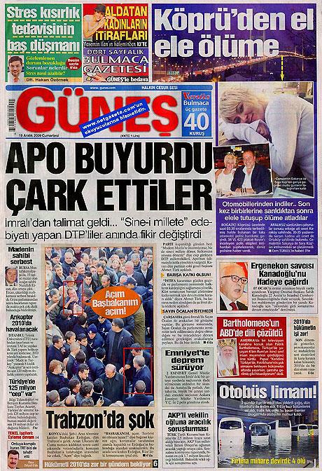 Türk basınında bugün (19 Aralık) galerisi resim 17