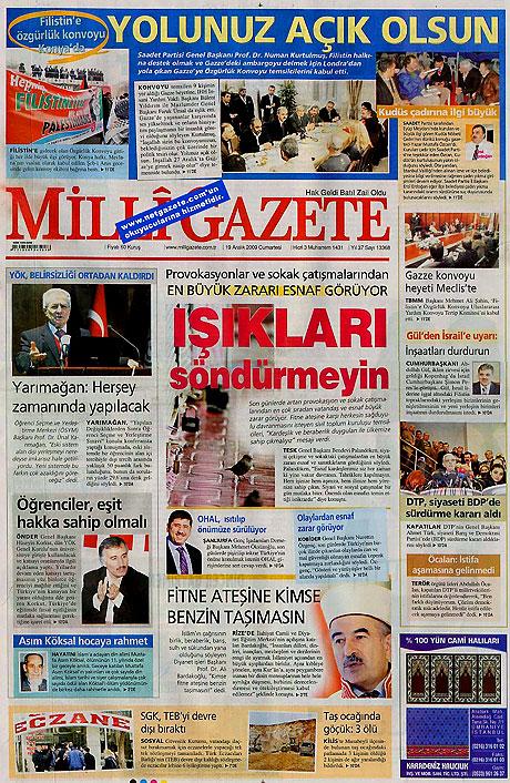 Türk basınında bugün (19 Aralık) galerisi resim 20